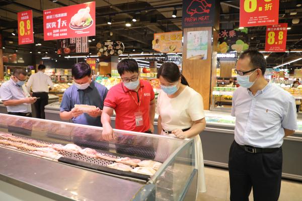检查昌大昌超市食品安全.png