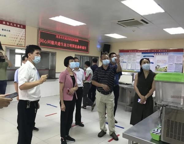 优化提升!食品安全组组织开展创卫迎国检模拟演练